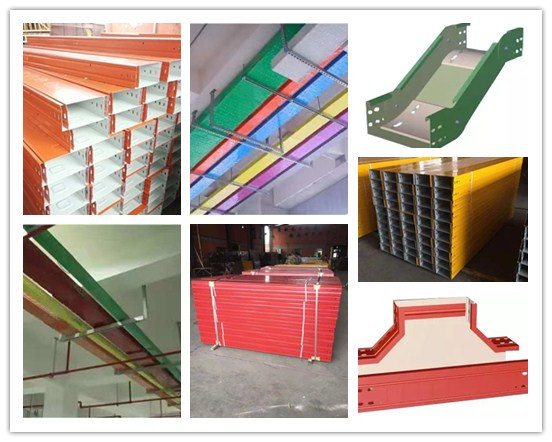 color steel cable tray